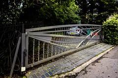 Lapwing Meadow gate (allybeag) Tags: rockcliffe cumbria england gate arty