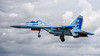 SU-27UB twin seat trainer (DrAnthony88) Tags: modernmilitary nikkor200400f4gvrii nikond810 riat2017 royalinternationalairtattoo2017 sukhoisu27p sukhoisu27ubtwinseattrainerflankerc ukraineaf831gtab ukraineaf831guardstacticalaviationbrigade ukrainianairforce