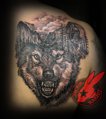 Realistic 3d Wolf Dog Portrait Animal Mountain Scene Yosemite National Park Trees Morph Back Tattoo by Jackie Rabbit (Jackie rabbit Tattoos) Tags: jackierabbit northerncalifornia tattoo tat star eyeofjade chico paradisecalifornia ca california realistic colorful 3d good best artist nude beautiful sleeve sexy vintage skull flower color feather infinity anchor heart dog bird tattoos inkmaster bestink norcal ribtattoo piece pintrest tree sunflower locket compass compassrose besttattooartist besttattooartistinchico besttattooartistincalifornia westcoast trashpolka polkatrash nature wildlife portraittattoo evil dark scary realisticskulltattoo horrortattoo monstertattoo bestin besttattoo