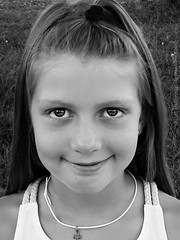 Anna b/w (Love me tender ♪¸.•*´¨´¨*•.♪¸.•*´) Tags: dimitrakirgiannaki photography greece greek girl portraits children kids summer smile beatiful innocent neamakri 2017 samsunggalaxya5
