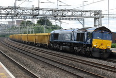 DRS 66429 @ Rugeley Trent Valley (ianjpoole) Tags: direct rail services class 66 shed 66429 working 6u77 mountsorrel sidings crewe basford hall ssm
