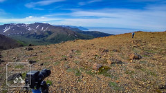 Flattop (fentonphotography) Tags: flattop cellphone anchorage alaska unitedstates us chugachstatepark landscape bluesky clouds horizon camera