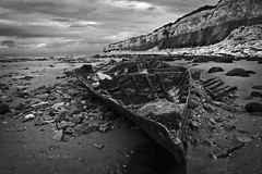 Shipwreck (RoYaLHigHnEsS1) Tags: sea shipwreck ship boat old beach seascape shore rocks kings lynn