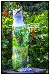 Bud (Missy2004) Tags: bud katewilson moorotterstrail nikkorafs18105mm3556ged devon dartmoor sculpture art otter
