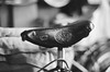 old ideale saddle 001 (frenchvalve) Tags: bicycle saddle ideale film fujiacross100 monochrome bw canon ae1p fd 28mm f28