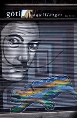 Street Scenes, Barcelona (Annette Rumbelow) Tags: annetterumbeowwilson barcelona streetscenes art streetart
