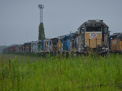 The end of the line as we know it (Robby Gragg) Tags: nrex sd40m2 2702 silvis