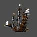 MOC : Mini MetalBeard's Sea Cow