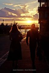 Summer night city (AV art) Tags: sunrise sun sunny summer july evening eve night couple street photography tampere finland auringonlasku aurinko aurinkoinen kesä ilta kesäilta katu katuvalokuvaus