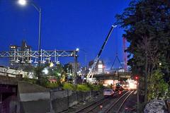 Tracks and Bridge repair (hansntareen) Tags: tracks bridgerepair boston t mbta rail railroad