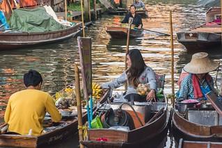 marche fottant damnoen saduak - thailande 16