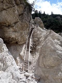 Via legna, Monte Piana