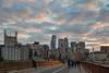 Stone Arch Twilight 1s (Greg Riekens) Tags: usa minnesaoplis nikond500 twilight clouds city stonearchbridge evening skyline downtown minnesota