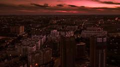 Sunset in Ryazan city (shiryavsky) Tags: ryazan rzn city sunset sincity night nightphoto dark red violet drone mavicpro dji djimavic mavicphoto