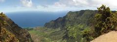 Waimea Canyon (artofjonacuna) Tags: waimea canyon kauai hawaii panoramic landscape ocean sky