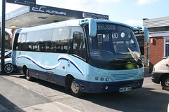 IMG57980 Tarhum SO WX56TNN Nailsea 15 Apr 12 (Dave58282) Tags: bus so tarhum blueiris wx56tnn toyota bb50r 5500686 caetano optimov f063071021 latern88lue
