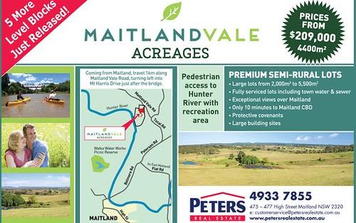 Lot 216 Esk Circ, Maitland Vale NSW