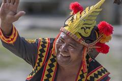 Wardance at Bawomataluo village (Hannes Rada) Tags: indonesia nias island bawomataluo war dance