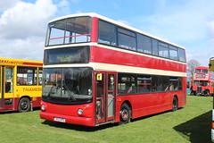West Kent Buses Trident. (steve vallance coach and bus) Tags: t653kpu dennistrident alexander westkent southeastbusfestival stagecoacheastlondon detling eastlondon