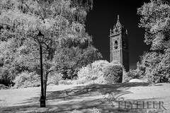 _MG_0211 (Flyfifer Photography) Tags: blackandwhite brandonhill bristol cabottower england greatbritain infrared places unitedkingdom