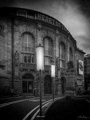 Theater Freiburg (Oly User) Tags: breisgau olympus thomasmeinersmann urlaub freiburg bw monochrom theater omdem5markii 17mmf18