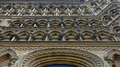 Lincoln Cathedral, façade detail