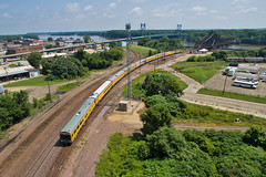 Goodbye Iowa (Trainboy03) Tags: union pacific up 3032 clinton iowa ia
