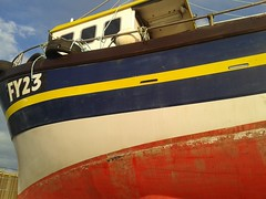 Portside Of Pearl (Kinsella Media) Tags: boat sea ship seaside vessel littel pearl fy23 fishing arklow ireland eire eireann port side