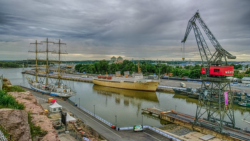20.7.2017 Torstaiaamu Thursdaymorning Tall Ships Turku Åbo Finland