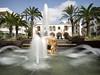 Santa Eulalia (Barry Jansen Travel Photographer) Tags: santa eulalia ibiza water splash fountain olympus omd em1 mk2 1240 pro island longshutterspeed ndx400 hoya