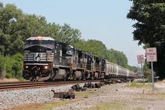 NS 8348 (CC 8039) Tags: ns trains c408w ac44cw c449w gp38 chesterton indiana