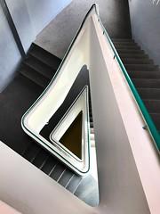 Stairway (Berliner1963) Tags: weltkugelkino treppenhaus stairway cottbus germany deutschland
