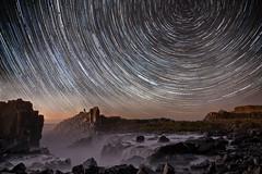 When You Come (EmeraldImaging) Tags: bombo bomboquarry kiama sydney nsw wollongong australia seascape sunrise stars startrails water rocks waterfalls flow grass