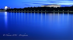 After sunset سج لٿي کان پوءِ (channa.razaque) Tags: australian canberra act capital canon canon6d visitcanberra sunset night longexposure nationallibraryofaustralia nla lake lakeburleygriffin lights blue water visitaustralia beautifulaustralia peace calm
