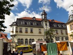 Ilmenau (germancute) Tags: ilmenau outdoor city town stadt rathaus building house haus gebäude markt platz