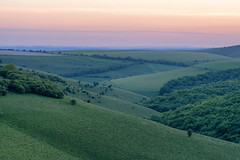 (Claire*Marsh) Tags: dorset england uk countryside sunset hills rolling pink green natural nature rural sonya6000 landscape telephoto