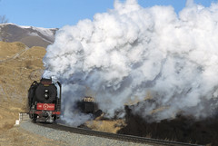 HOWLING WIND (dayvmac) Tags: steam chinesesteam jingpeng steamlocomotive railways railroad smoke steamtrains steamrailways