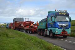 ALLELYS HEAVY HAULAGE MAN TGX 680 V8 T700 AHH (denzil31) Tags: allelys heavyhaulage man tgx 680 v8 stgocat3 transformer move girder trailer buckie t700 ahh mantrucks