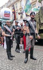 """bootsservice 17 1600701 (bootsservice) Tags: paris """"gay pride"""" """"marche des fiertés"""" bottes cuir boots leather sm motards motos motorcyclists motorbiker caoutchouc rubber uniforme uniform"""