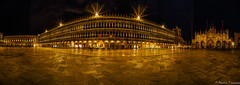 St. Marco Panorama (martintimmann) Tags: lights night availablelight e loxia2821 zeiss venice longexposure architecture