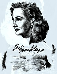 Virginia Mayo (Bob Smerecki) Tags: smackman snapnpiks robert bob smerecki sports art digital artwork paintings illustrations graphics oils pastels pencil sketchings drawings virtual painter 6 watercolors smart photo editor colorization akvis sketch drawing concept designs gmx photopainter 28 draw hollywood walk fame high contrast images movie stars signatures autographs portraits people celebrities vintage today metamorphasis 002 abstract melting canvas baseball cards picture collage jixipix fauvism infrared photography colors
