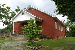 Piney Fork Cumberland Presbyterian Church (Midnight Believer) Tags: pineyforkcumberlandpresbyterianchurch crittendencounty kentucky bluegrassstate houseofworship christianity rural churchbuilding
