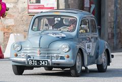 Mille Miglia, Gubbio 2017 (MikePScott) Tags: 4cv 600 camera car events fiat gubbio italia italy millemiglia nikon28300mmf3556 nikond600 renault transport umbria