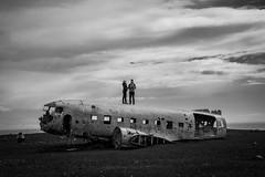 Drones @ Sólheimasandur Crash Site (Gordon-Shukwit) Tags: 2017 boystrip iceland midnightsun