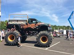 Monster Car (ProfLidenbrock) Tags: monster trucks englishtown nj new jersey
