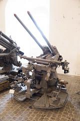 Danish anti-aircraft cannon (quinet) Tags: 2017 antik cannon copenhagen kanone royaldanisharsenalmuseum ancien antique canon canone museum zealand denmark