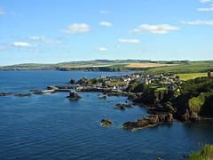 St. Abbs - Scotland. (R.Miller1979) Tags: scotland stabbs coast coastline sea water landscape nikon blue green yellow grassland grass