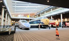 History of high speed rail and a high speed boy, at the Kyoto Railway Museum 8535 (Tangled Bank) Tags: japan japanese asia asian jr jnr old classic heritage vintage history historical train railway rail railroad museum