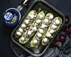 zukkini with mozarella (tekkin) Tags: food foodflatlay darkfoodphoto smoothie foodlover frenchtoast flatlay