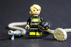FDNY Lieutenant (sponki25) Tags: fdny lieutenant firefighter hose turnoutgear firefighting helmet shield pumper company fire department newyork nyc ny lego moc manhattan ladder engine reflective tape queens bronx brooklyn statenisland minifigure minifig newyorkcityfiredepartment